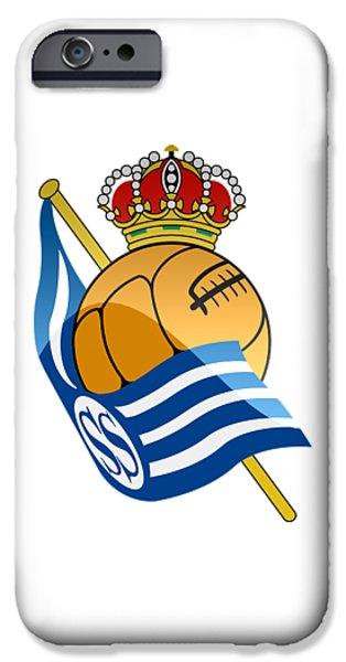 Real Sociedad De Futbol Sad IPhone 6 Case by David Linhart