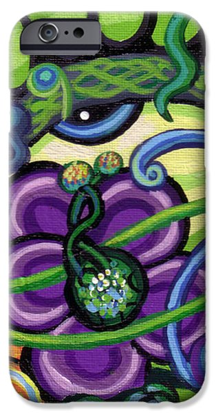 Reciprocal Liason Of The Sea II iPhone Case by Genevieve Esson