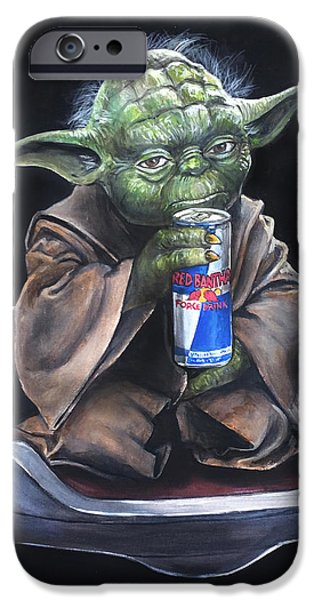 Yoda iPhone 6 Case - Red Bantha by Tom Carlton
