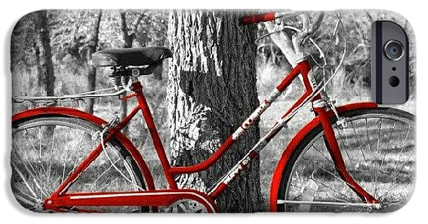 Red Bicycle II IPhone 6 Case