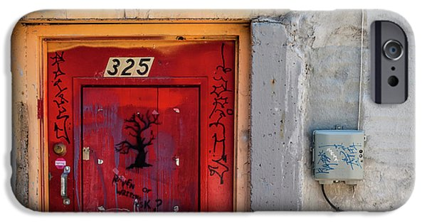 Downtown Salt Lake City IPhone 6 Case   Red Door 325 By Steven Milner