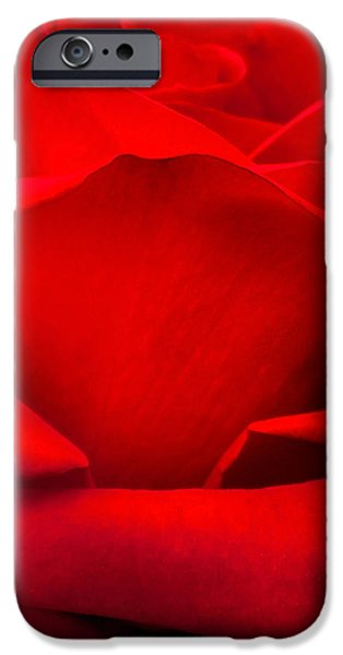 Red Rose iPhone 6 Case - Red Rose Petals by Az Jackson