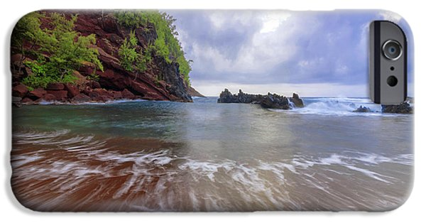 Pacific Ocean iPhone 6 Case - Red Sand by Chad Dutson