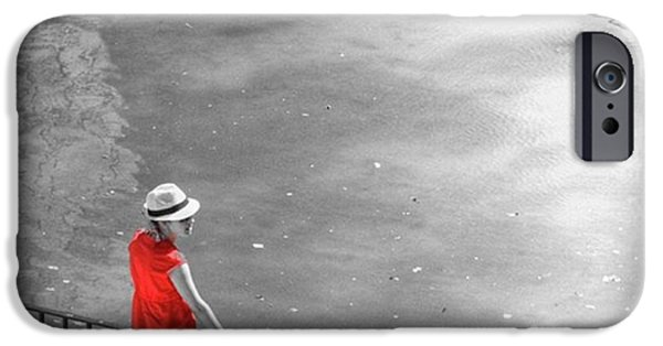 Red Shirt, Black Swanla Seu, Palma De IPhone 6 Case