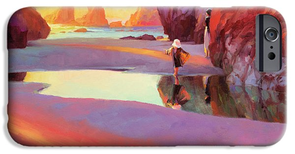 Pacific Ocean iPhone 6 Case - Reflection by Steve Henderson
