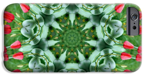 Reflections Of Nature iPhone Cases - Reflections of Spring iPhone Case by Cricket Hackmann