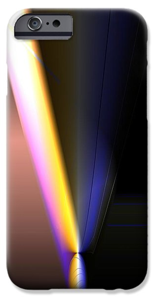 Refracted Light iPhone Cases - Refracted iPhone Case by Ron Bissett