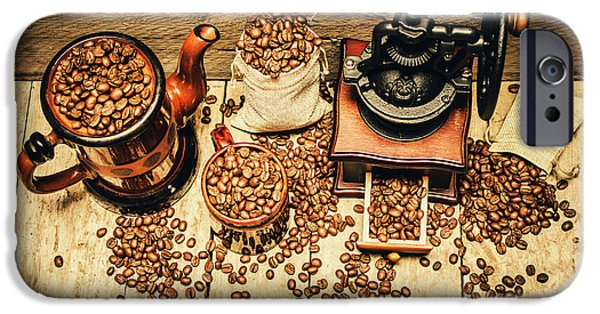 Retro Coffee Bean Mill IPhone 6 Case