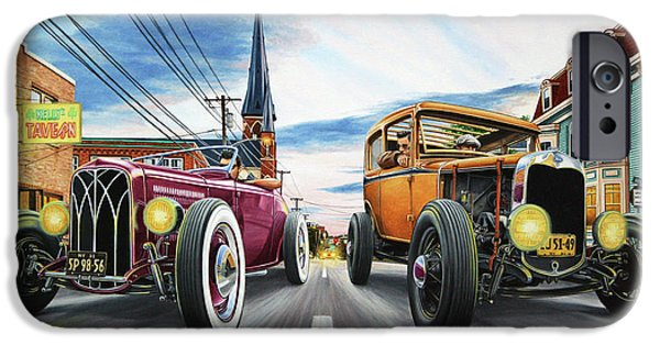 huge discount 15a1b c2695 Hot Rod iPhone 6 Cases | Fine Art America