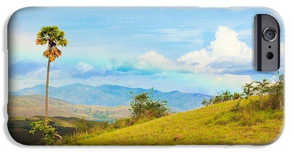 Park Scene iPhone Cases - Rinca island. iPhone Case by MotHaiBaPhoto Prints