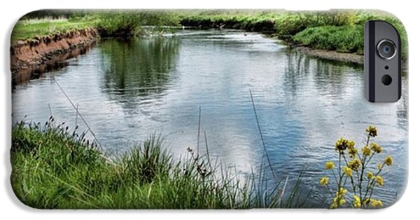 Sky iPhone 6 Case - River Tame, Rspb Middleton, North by John Edwards
