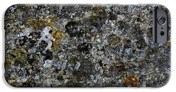 Rock Lichen Surface IPhone 6 Case by Nareeta Martin