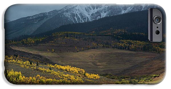 IPhone 6 Case featuring the photograph Rocky Mountain Horses by Aaron Spong