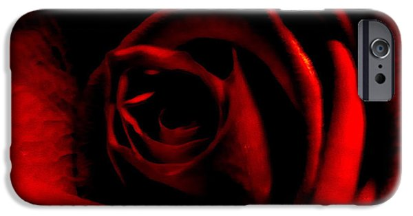 Cmlbrown iPhone Cases - Rose iPhone Case by CML Brown