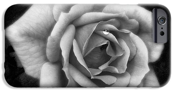 Rose In Mono. #flower #flowers IPhone 6 Case