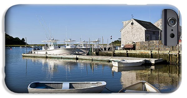 Chatham iPhone Cases - Rowboats iPhone Case by John Greim