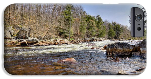 IPhone 6 Case featuring the photograph Rushing Waters Of The Moose River by David Patterson