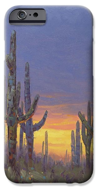 Grand Canyon iPhone 6 Case - Saguaro Mosaic by Cody DeLong