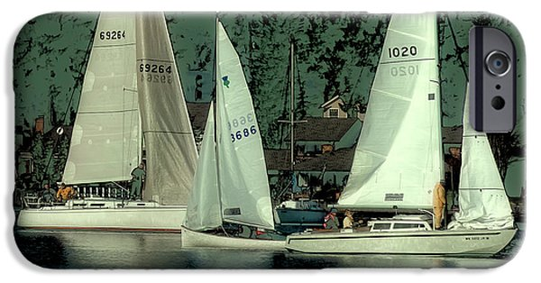 IPhone 6 Case featuring the photograph Sailing Reflections by David Patterson