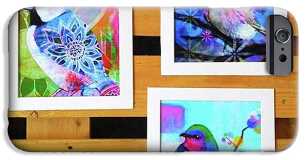 iPhone 6 Case - *sale* 3 11 X 14 In. Bird Prints With by Robin Mead