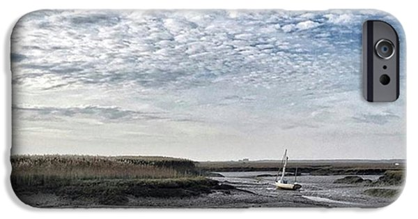 Salt Marsh And Creek, Brancaster IPhone 6 Case