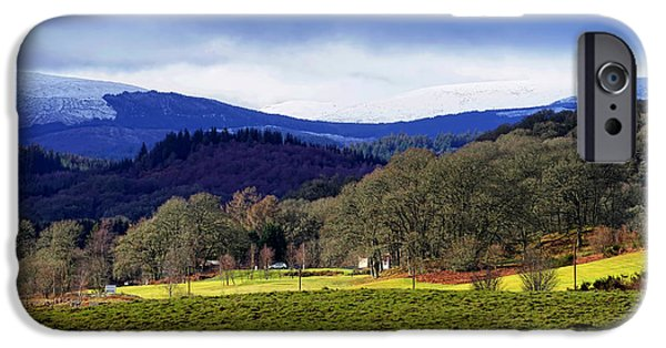 IPhone 6 Case featuring the photograph Scottish Scenery by Jeremy Lavender Photography