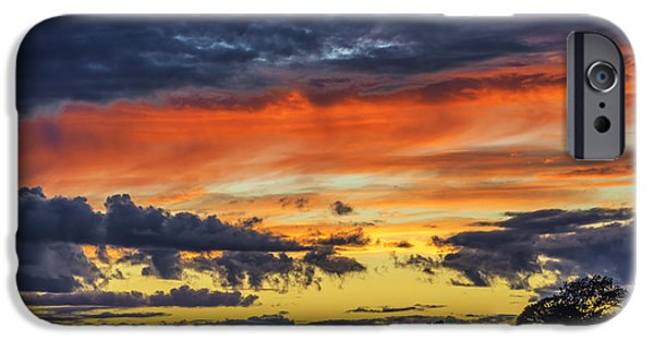 IPhone 6 Case featuring the photograph Scottish Sunset by Jeremy Lavender Photography