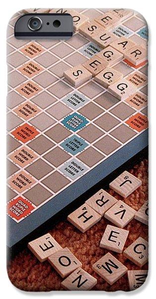 Recently Sold -  - Board iPhone Cases - Scrabble Board iPhone Case by Lynn-Marie Gildersleeve