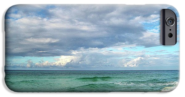 Panama City Beach Photographs iPhone Cases - Sea and Sky - Florida iPhone Case by Sandy Keeton