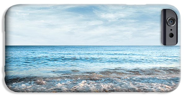 Backgrounds iPhone Cases - Seashore iPhone Case by Carlos Caetano