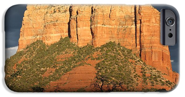 Sedona iPhone Cases - Sedona Sandstone Standout iPhone Case by Carol Groenen