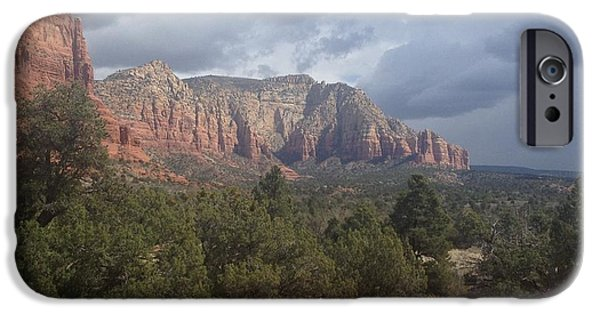 Recently Sold -  - Sedona iPhone Cases - Sedona Storm iPhone Case by Wayne Kendrick