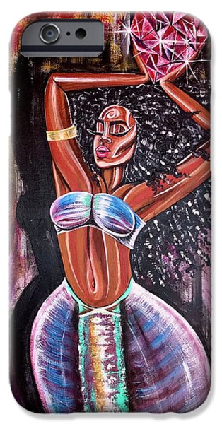 iPhone 6 Case - Self Made Royalty by Artist RiA