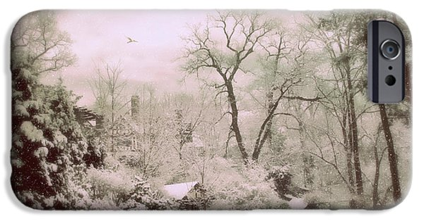 IPhone 6 Case featuring the photograph Serene In Snow by Jessica Jenney