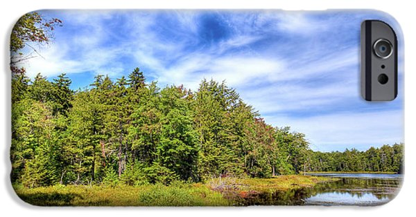 IPhone 6 Case featuring the photograph Serenity On Bald Mountain Pond by David Patterson