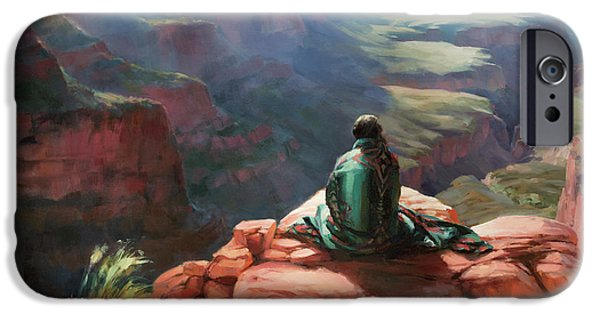 Grand Canyon iPhone 6 Case - Serenity by Steve Henderson