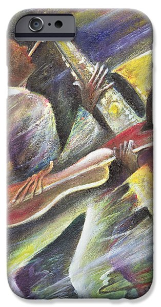 Jamaican Music iPhone Cases - Session iPhone Case by Ikahl Beckford