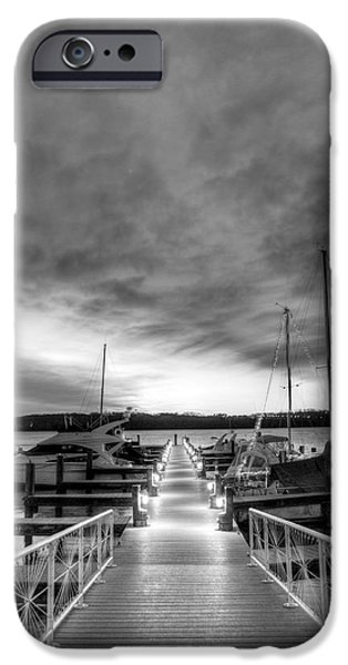 Alexandria iPhone Cases - Shades of Grey iPhone Case by JC Findley