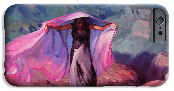 Grand Canyon iPhone 6 Case - She Danced By The Light Of The Moon by Steve Henderson