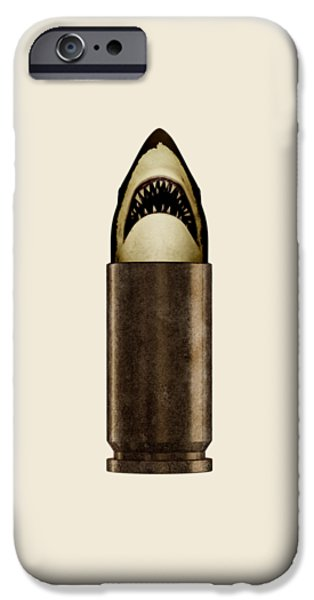 iPhone 6 Case - Shell Shark by Nicholas Ely