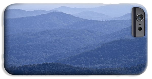 Scenic Drive iPhone Cases - Shenandoah Mountains iPhone Case by Pierre Leclerc Photography