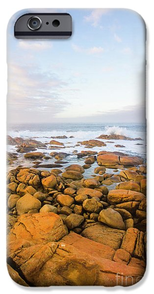 IPhone 6 Case featuring the photograph Shore Calm Morning by Jorgo Photography - Wall Art Gallery