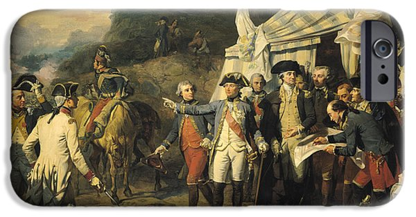 20th iPhone 6 Case - Siege Of Yorktown by Louis Charles Auguste  Couder
