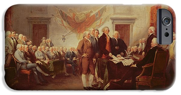 20th iPhone 6 Case - Signing The Declaration Of Independence by John Trumbull