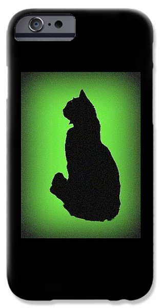 IPhone 6 Case featuring the photograph Silhouette by Karen Shackles