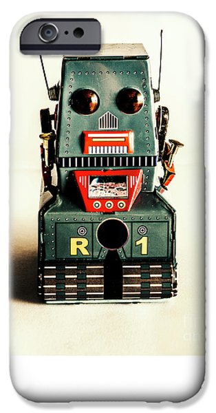 Simple Robot From 1960 IPhone 6 Case