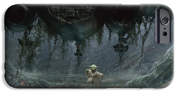 Yoda iPhone 6 Case - Size Matters Not by Ryan Barger