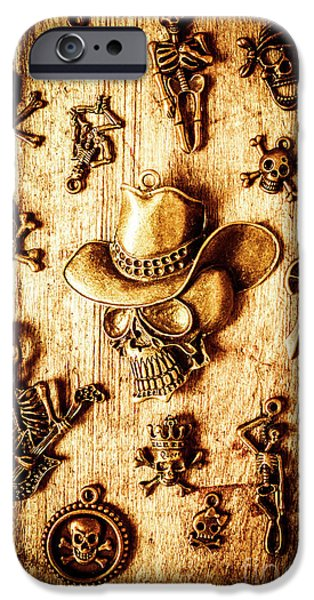IPhone 6 Case featuring the photograph Skeleton Pendant Party by Jorgo Photography - Wall Art Gallery