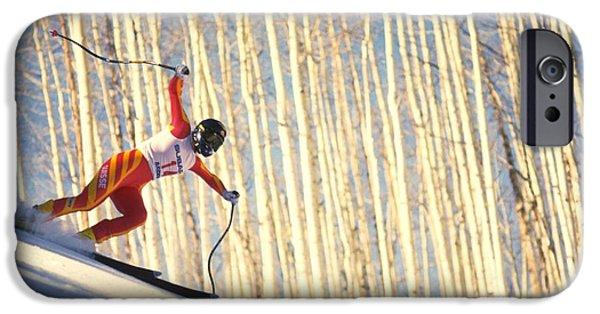 Skiing In Aspen, Colorado IPhone 6 Case