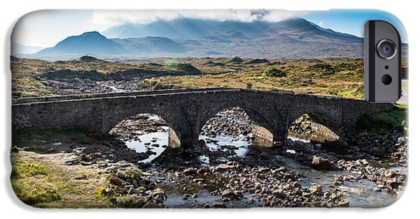 IPhone 6 Case featuring the photograph Skye Cuillin From Sligachan by Gary Eason